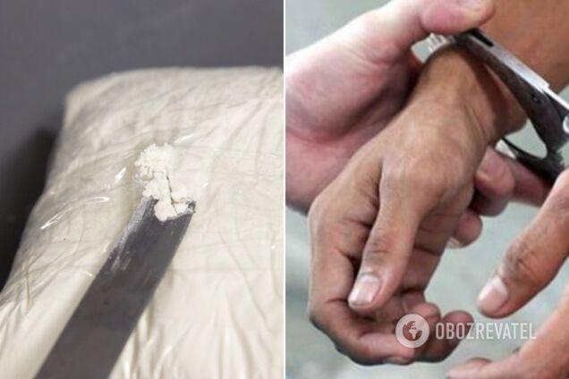 Жителя Кривого Рогу затримали на контрабанді наркотиків