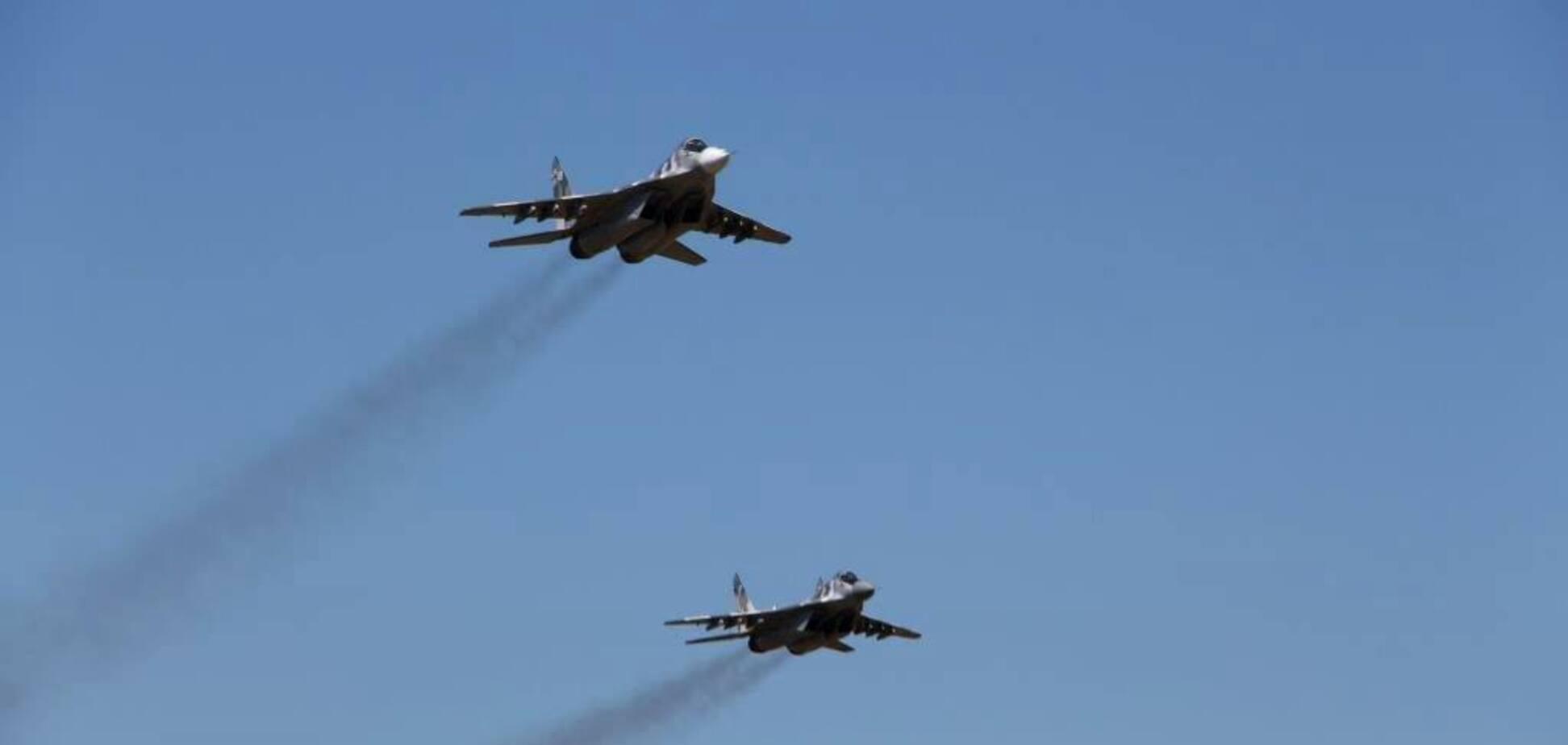 Авіація ЗСУ над Донбасом