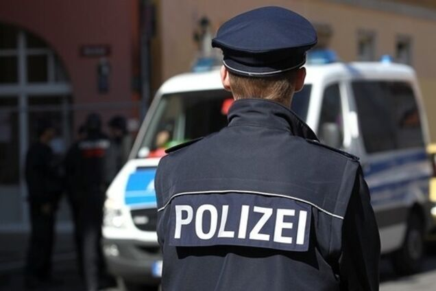 Иллюстрация. Полиция Германии