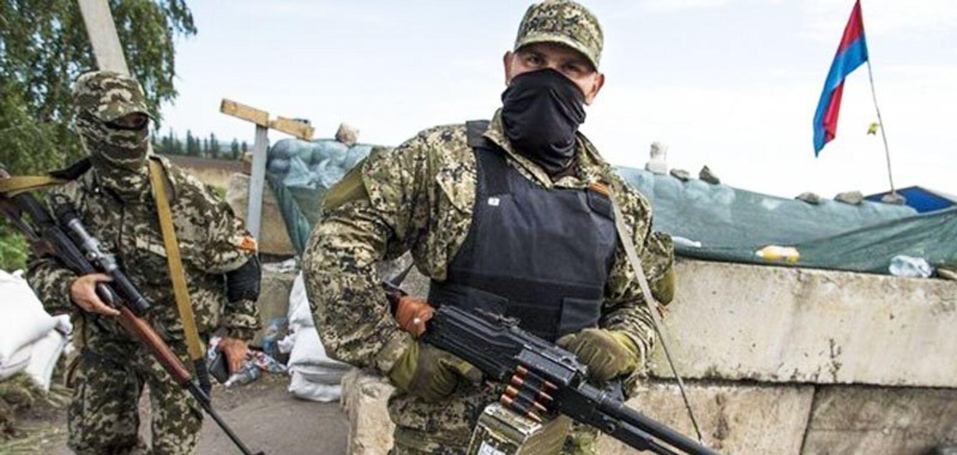 'Тіло з гербом 'ДНР': на Донбасі затримали прихильника терористів. Відео