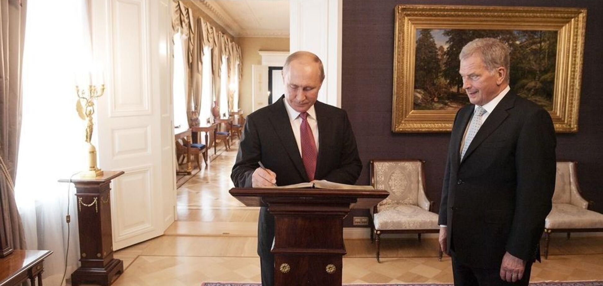Зустріч президентів Росії і Фінляндії