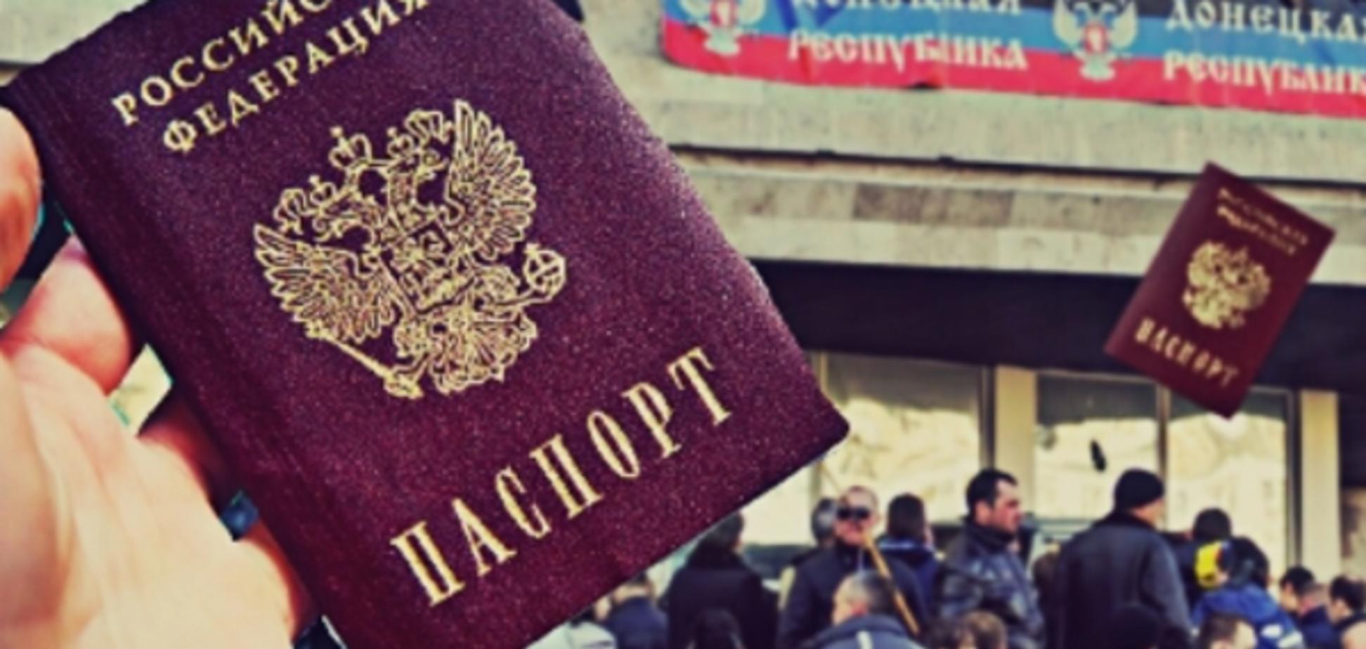 В 'Л/ДНР' терористи повстали через паспорти РФ