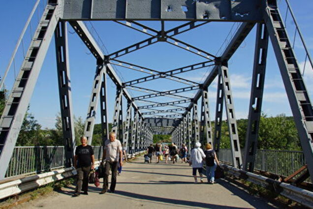 Ілюстрація. Міст у Станиці Луганській