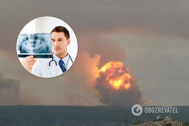 Взрывы в Архангельской области