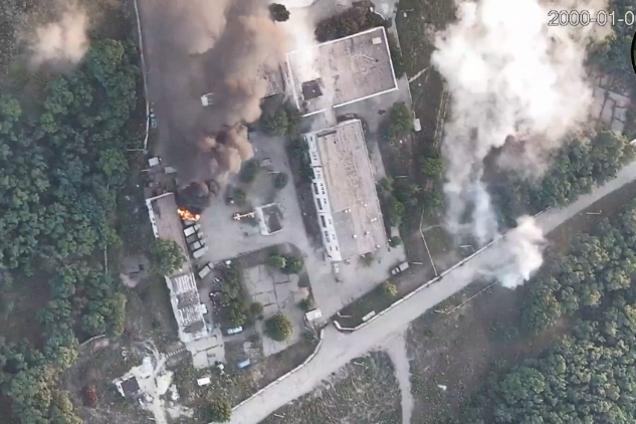 Операция ВСУ по уничтожению позиций террористов
