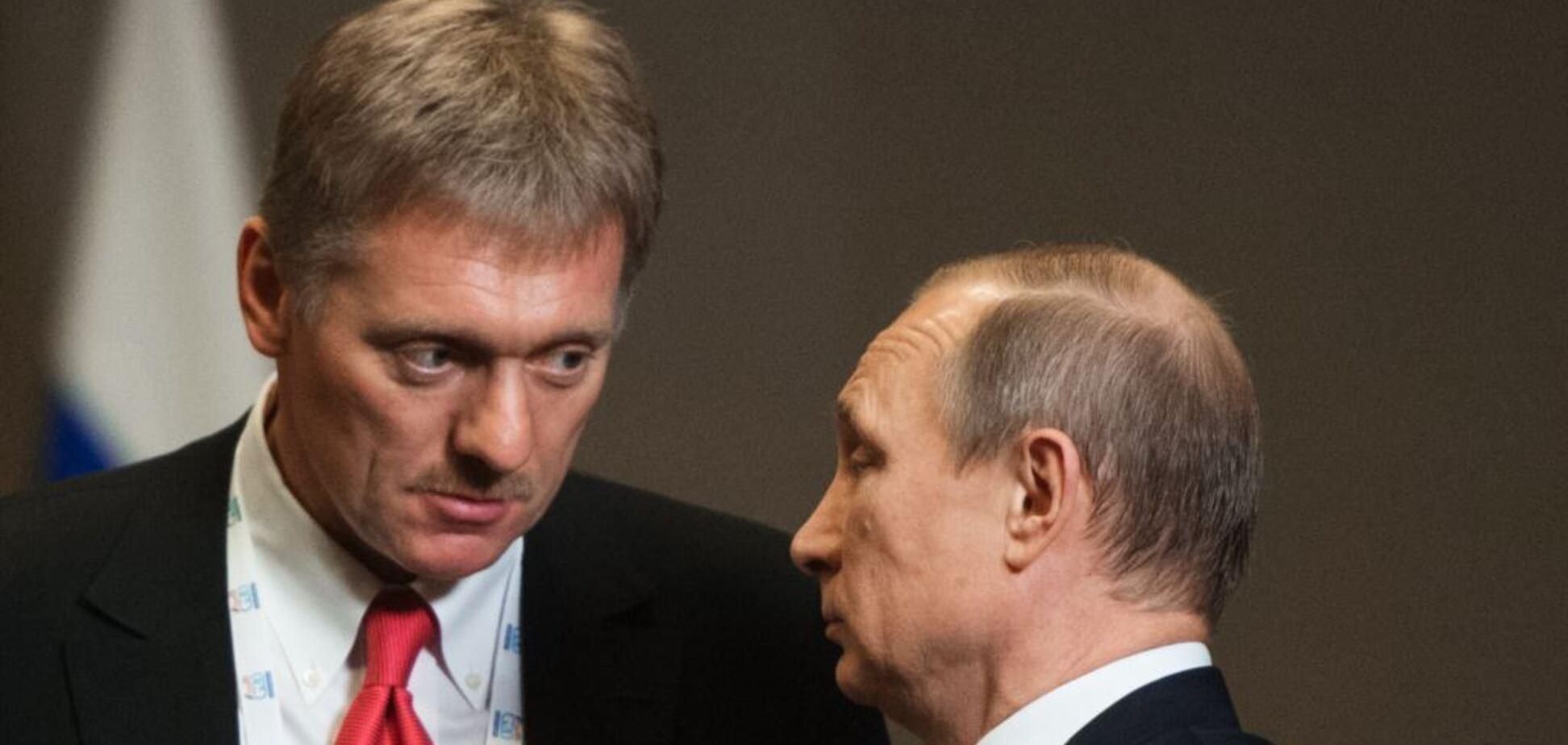 Владимир Путин и Дмитрий Песков. Источник: 112 канал