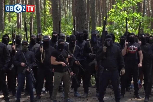 ''Черные человечки'' сняли угрозы сеператистам Харькова на видео