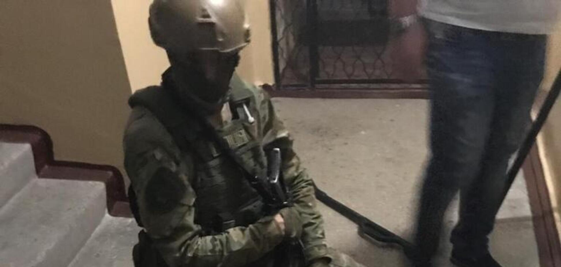 У Запоріжжі затримали чоловіків, які стріляли в нацгвардійця: опубліковані фото і відео