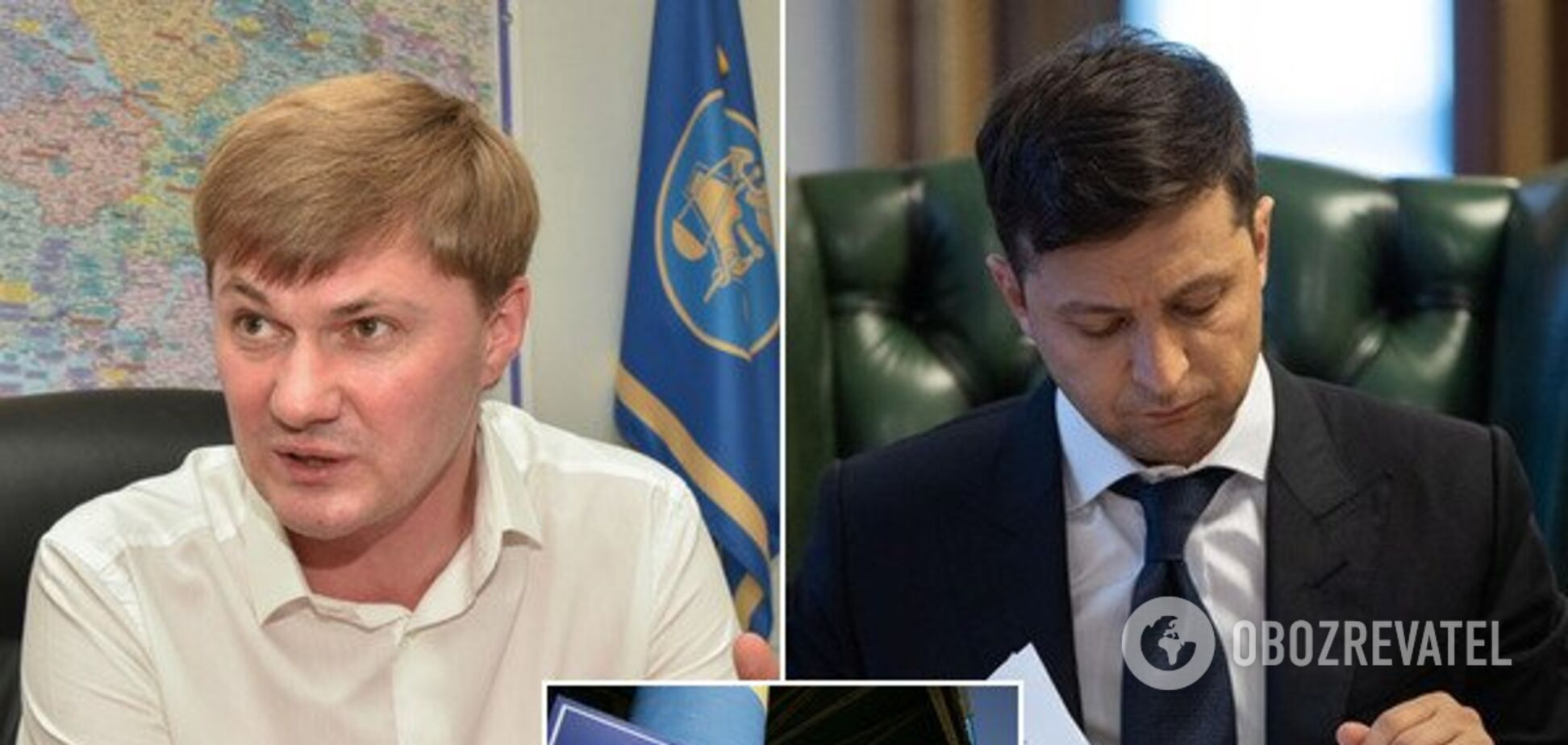 'За идиотов держите?' Главный таможенник Одессы уволен после конфликта с Зеленским