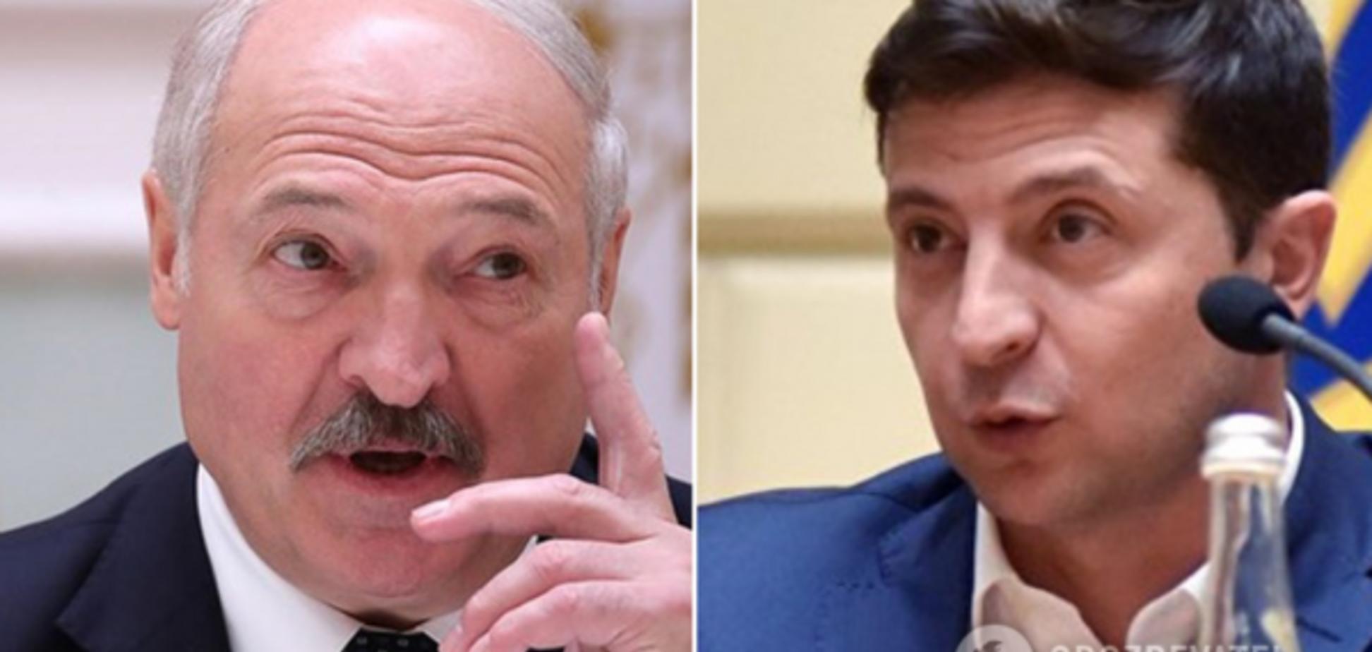 Лукашенко отправил подарок Зеленскому. Фото