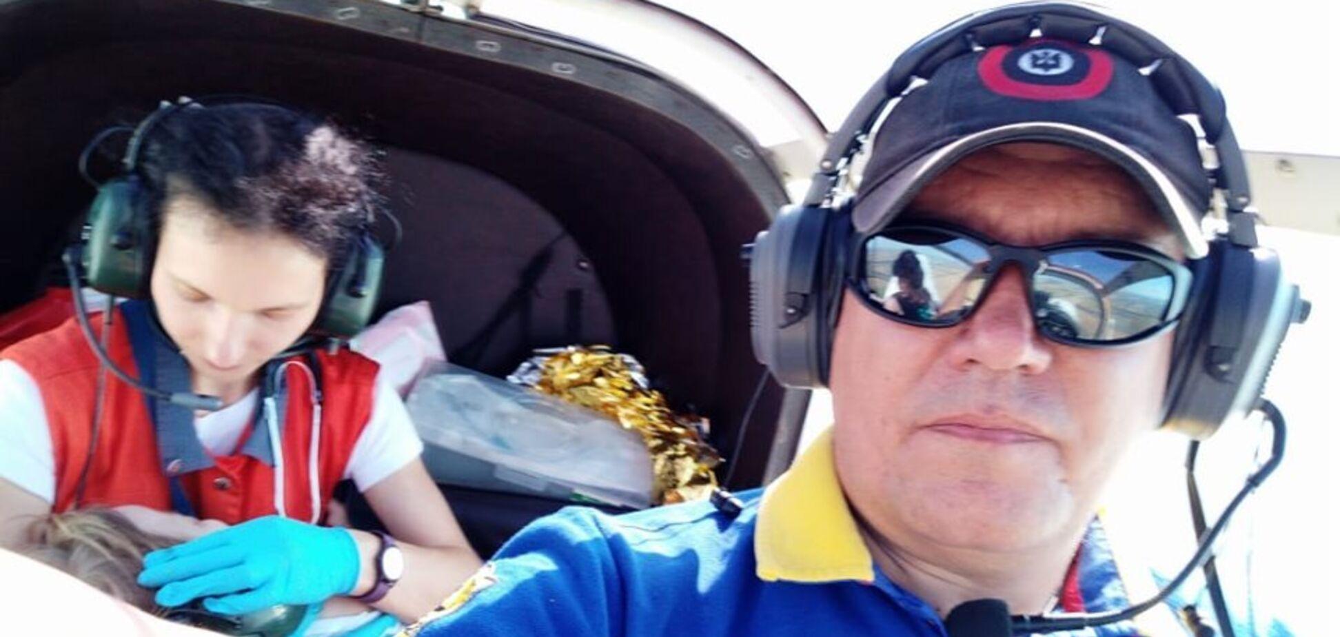 Руками 'відправили' літак: українців зворушила неймовірна історія порятунку дитини на Харківщині