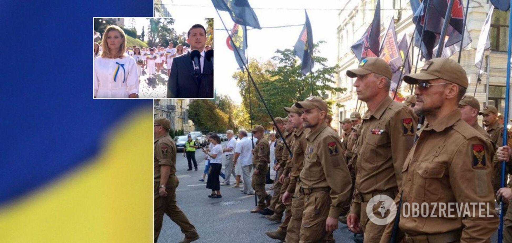 С парадом вышиванок и молитвой за мир: как Украина встретила День Независимости