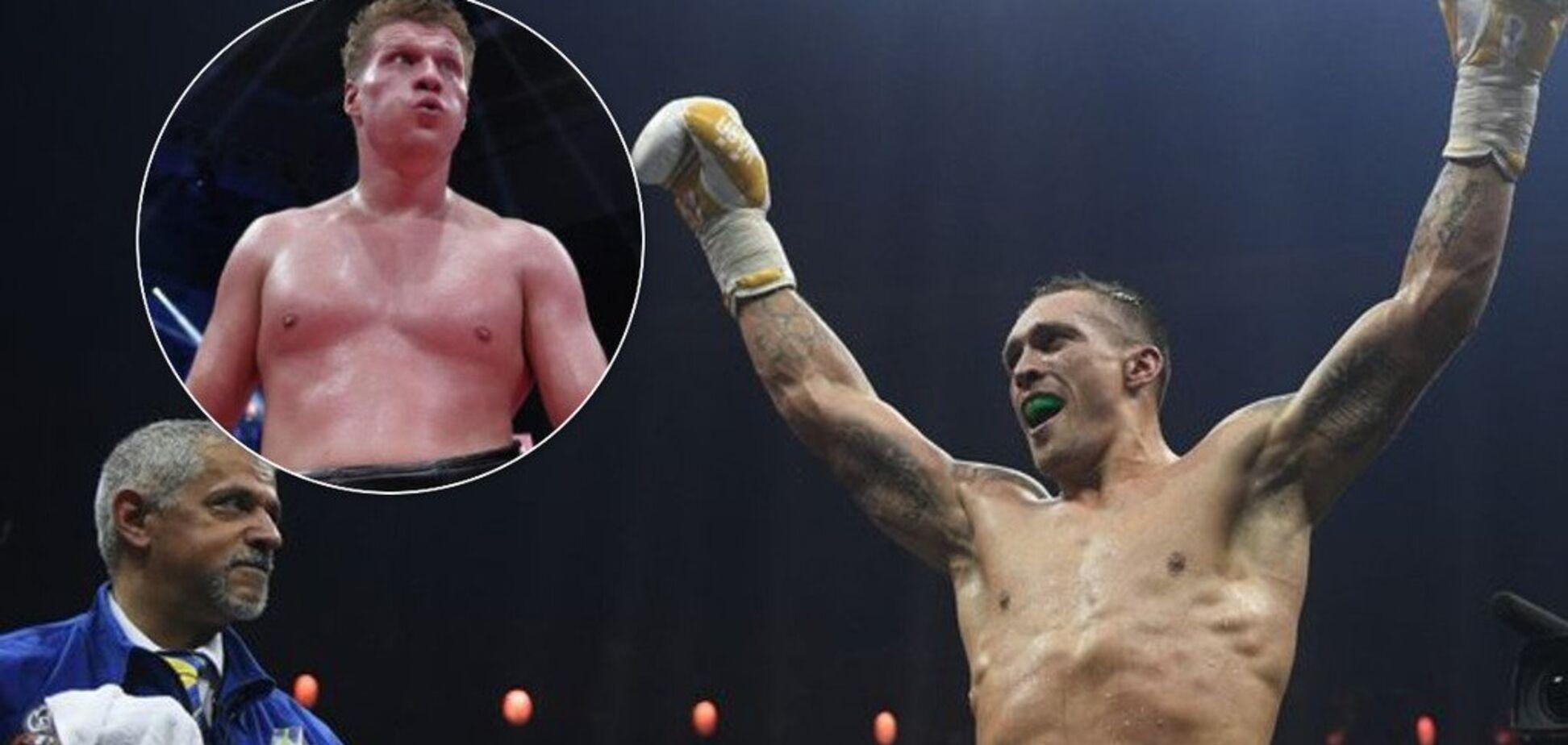 'Не хочу этого гов*а': Усик резко высказался о российских боксерах