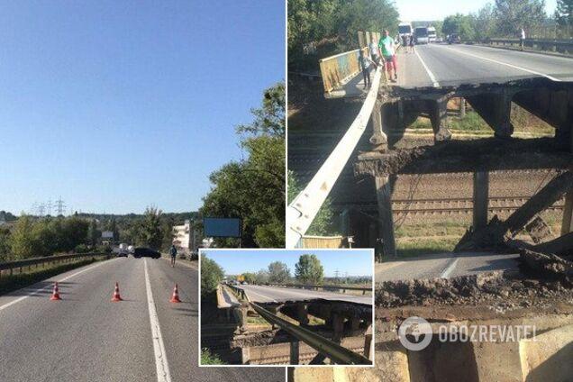 Поліція завела справу по мосту у Харкові, що обвалився
