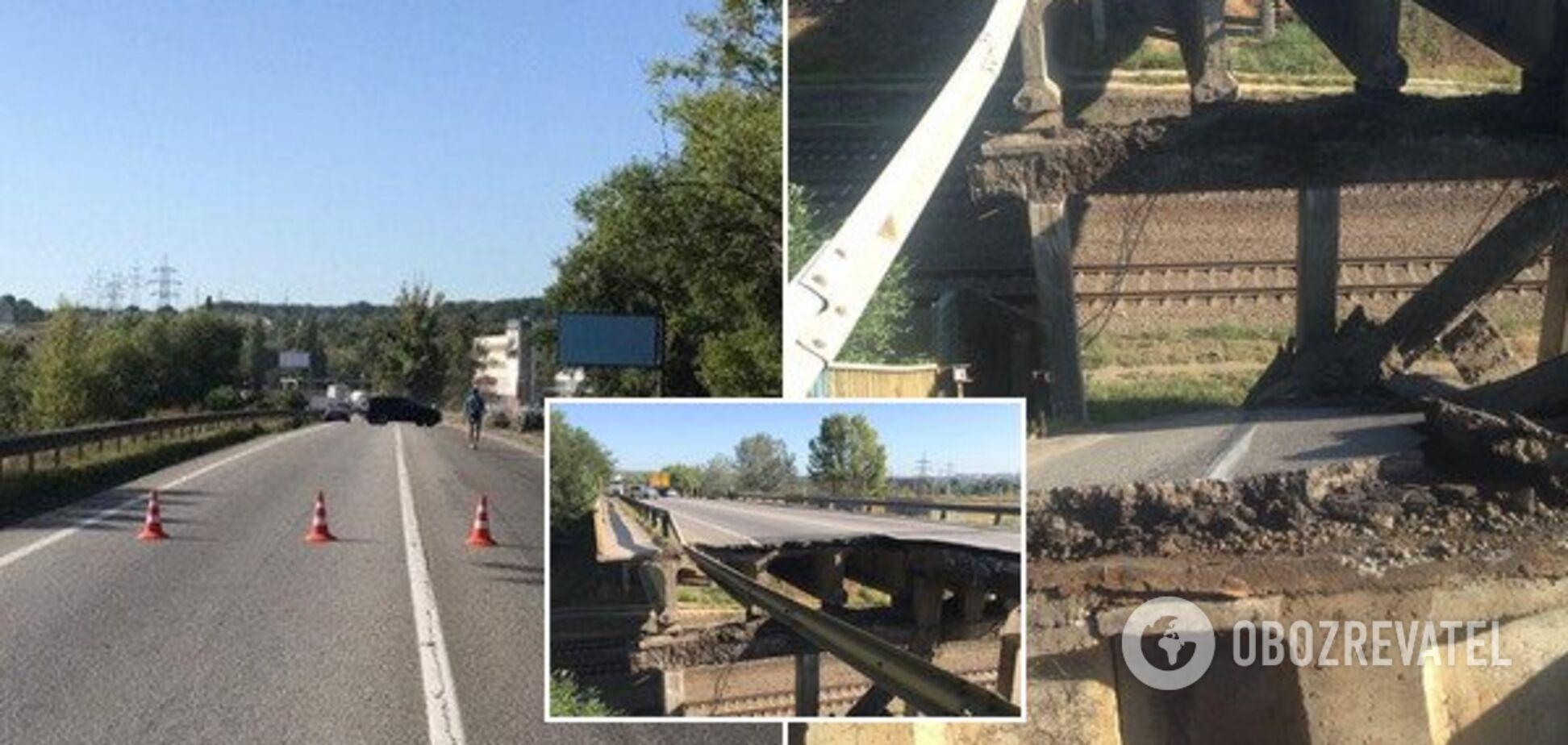 Поліція завела справу по мосту у Харкові, щообвалився