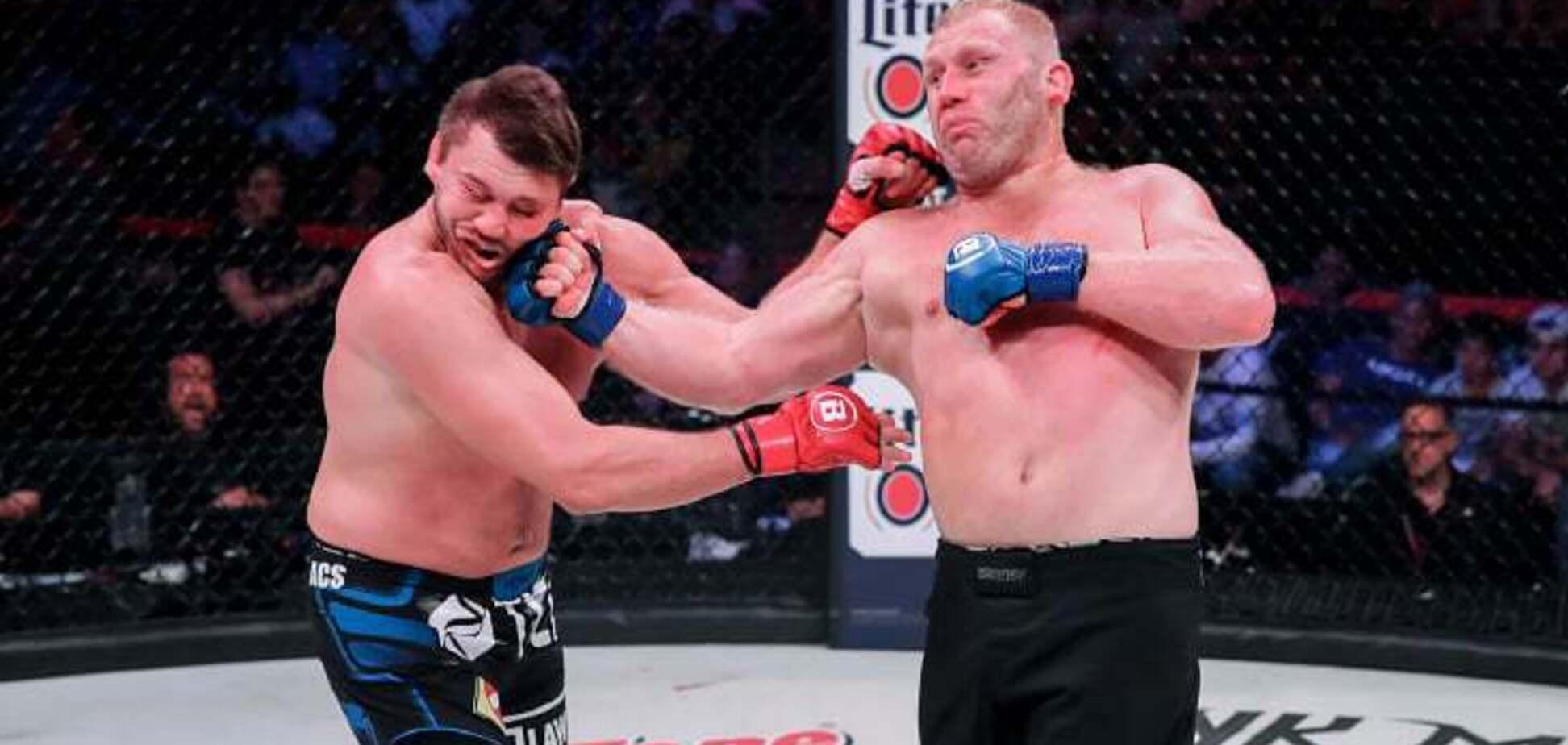 Знаменитий російський боєць переміг потужним нокаутом в Bellator