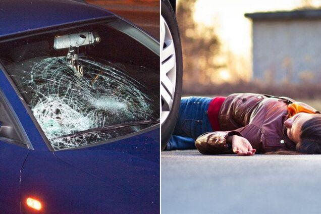 В Днепре автомобиль сбил девушку