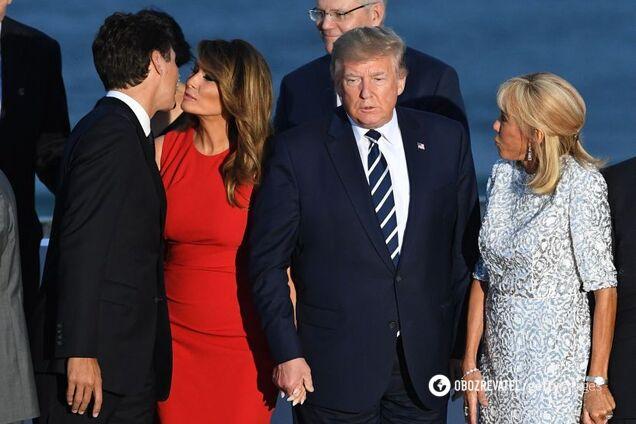 """""""Розлучення"""": реакція соцмереж на флірт дружини Трампа і Трюдо"""