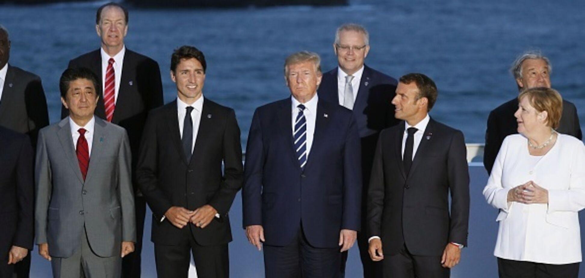 Трамп устроил скандал из-за России на саммите G7 — СМИ