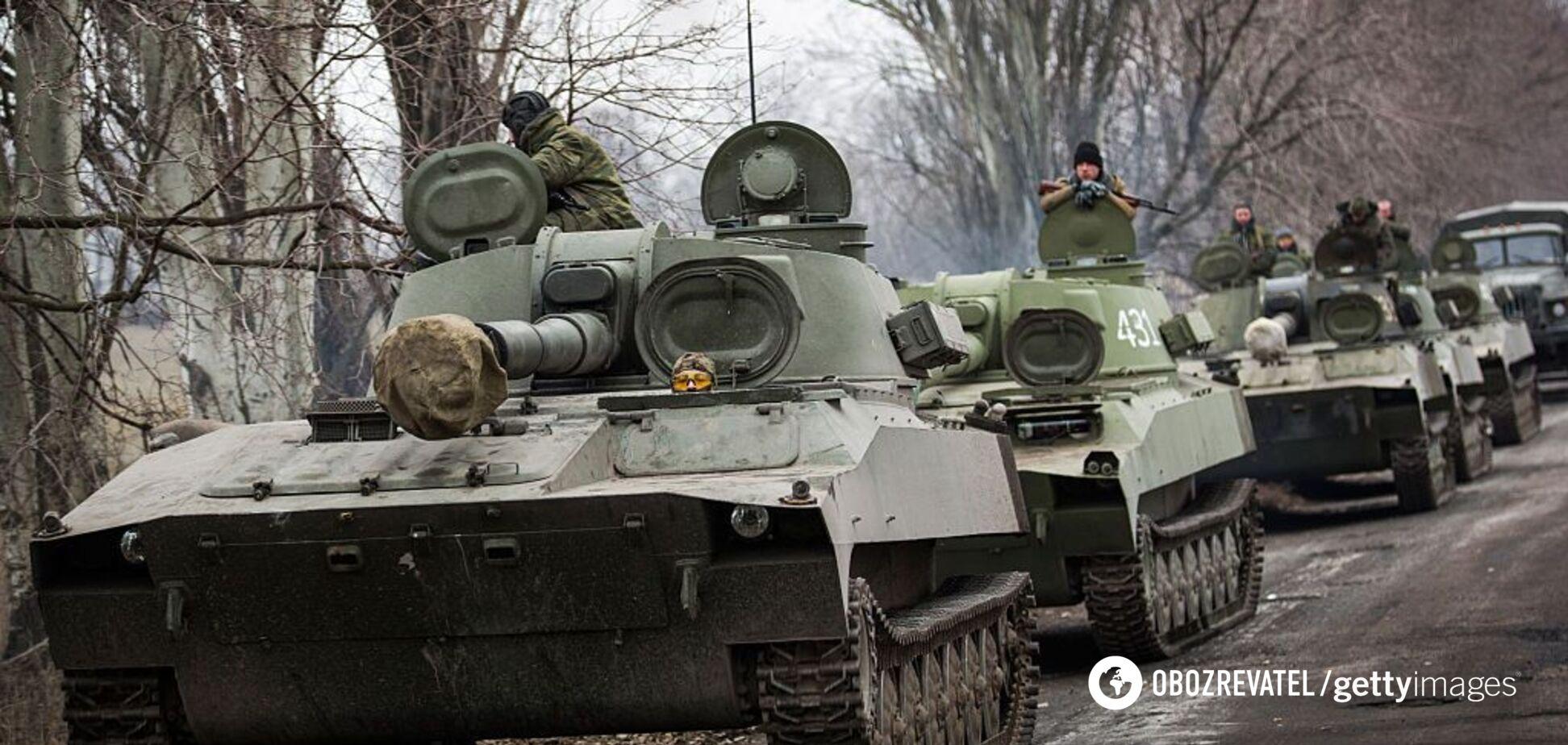 'Є потрапляння!' З'явилося відео, як ЗСУ знищують техніку 'Л/ДНР' на Донбасі