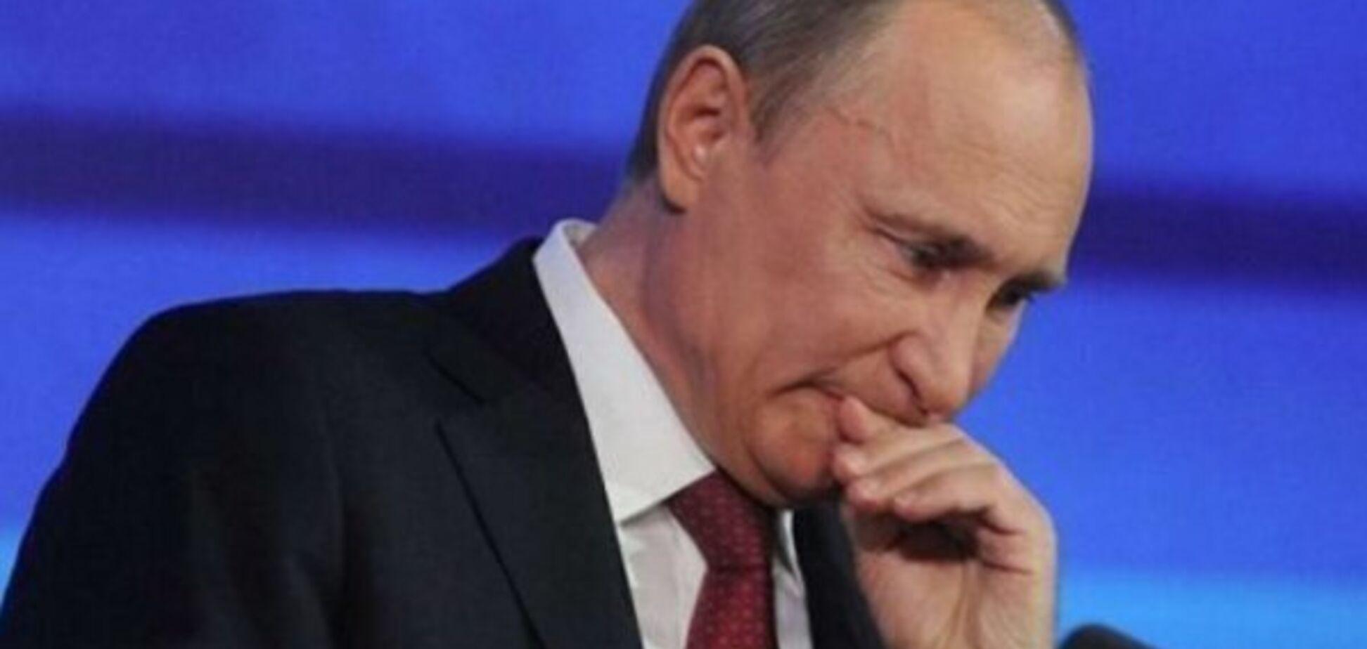 'Путин носит маску!' Российский оппозиционер рассекретил президента РФ