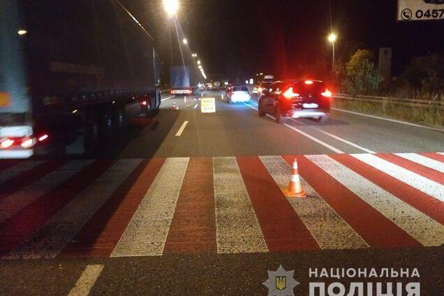 На Київщині позашляховик збив пішохода