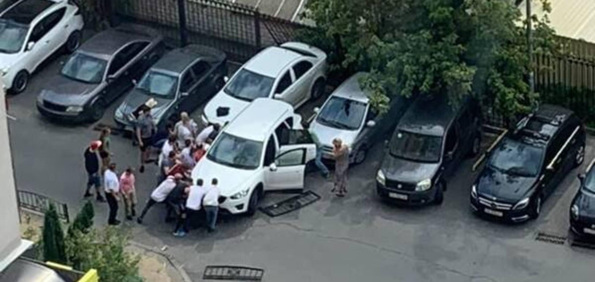 'Схопила судома': з'ясувалися скандальні деталі про ДТП з тещею Притули і Хомутинніка в Києві