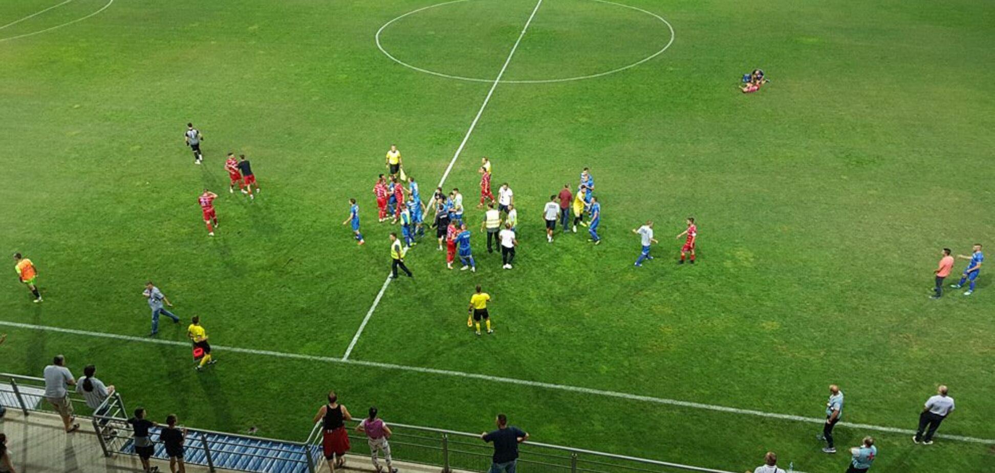 Догоняли всей командой: в Сербии футболист отличился жутким хамством