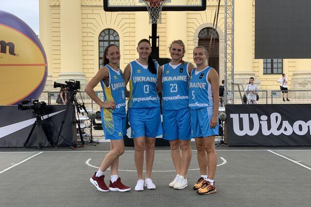 женская сборная Украины по баскетболу 3х3
