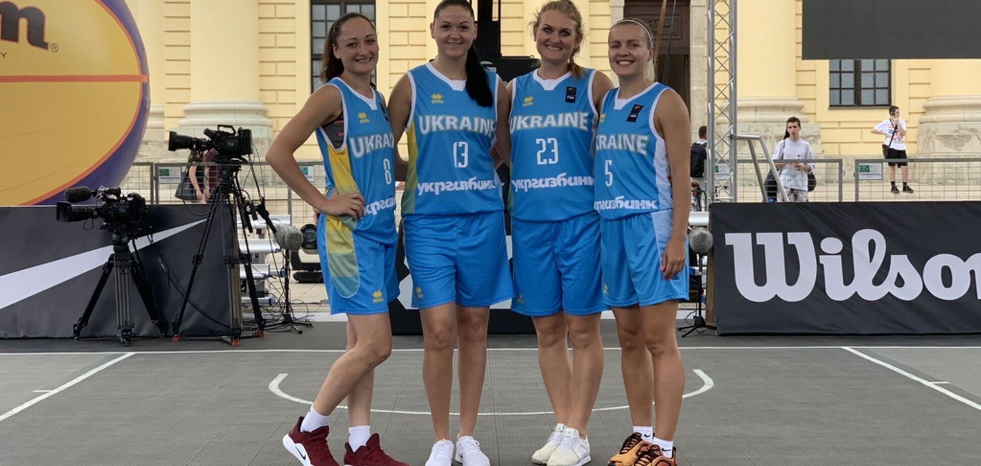 Украинки вышли в чертьфинал Мировой серии по баскетболу 3х3