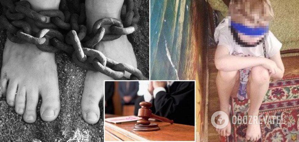 Тримала на ланцюгу 8-річного сина: жорстокій матері винесли вирок