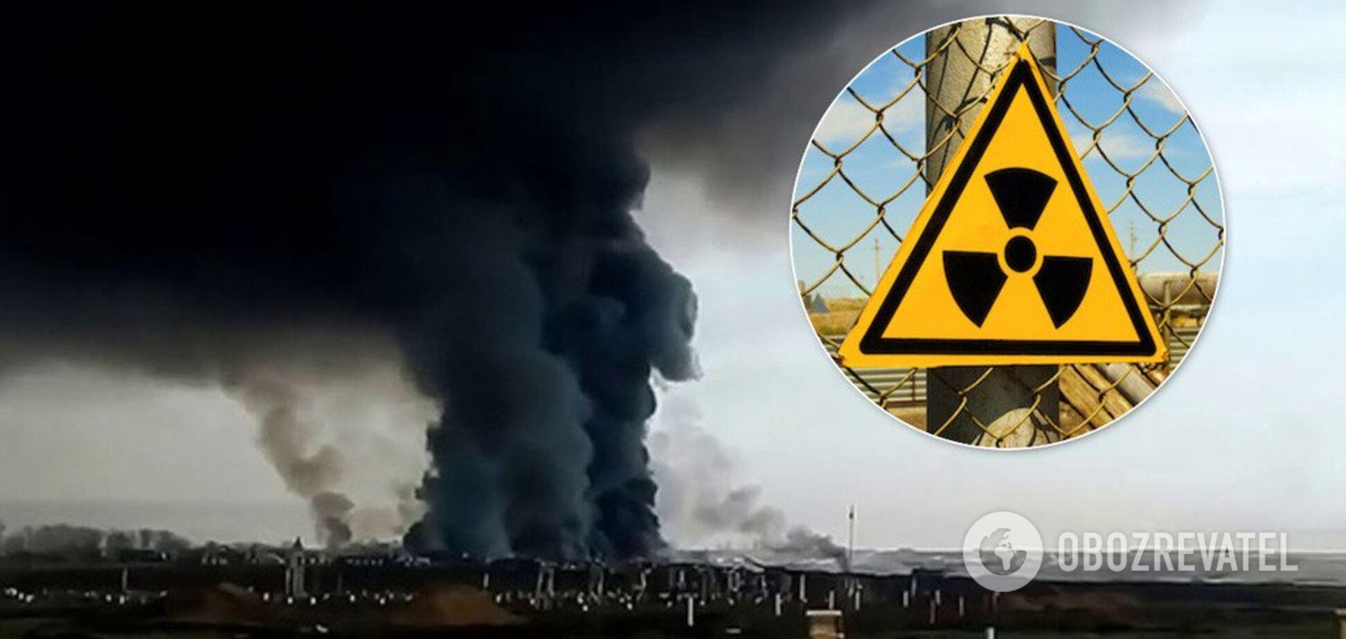 Взрыв в России