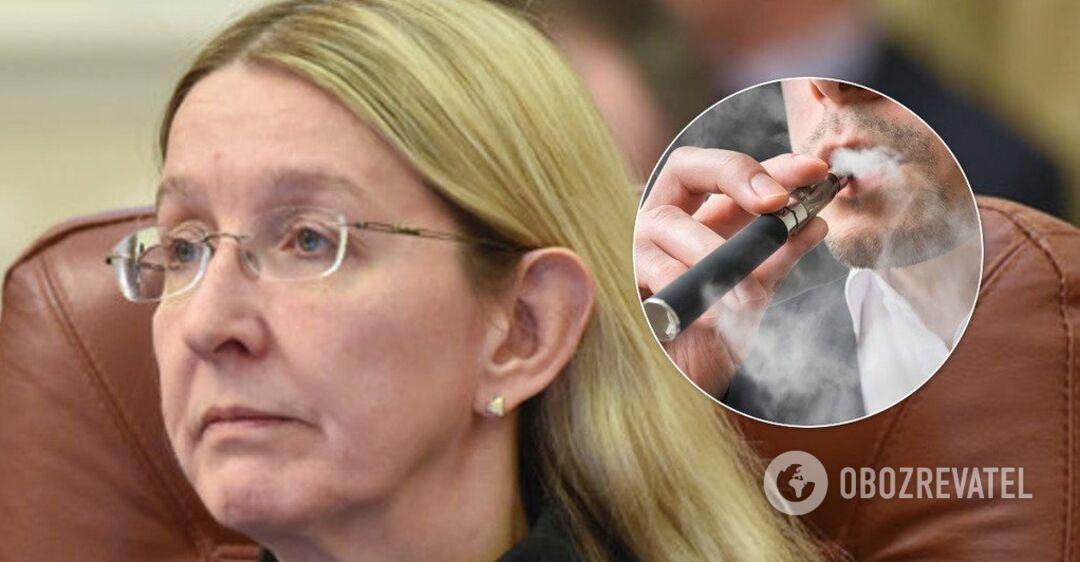 Первая смерть от электронных сигарет и вейпов: Супрун назвала опасные симптомы