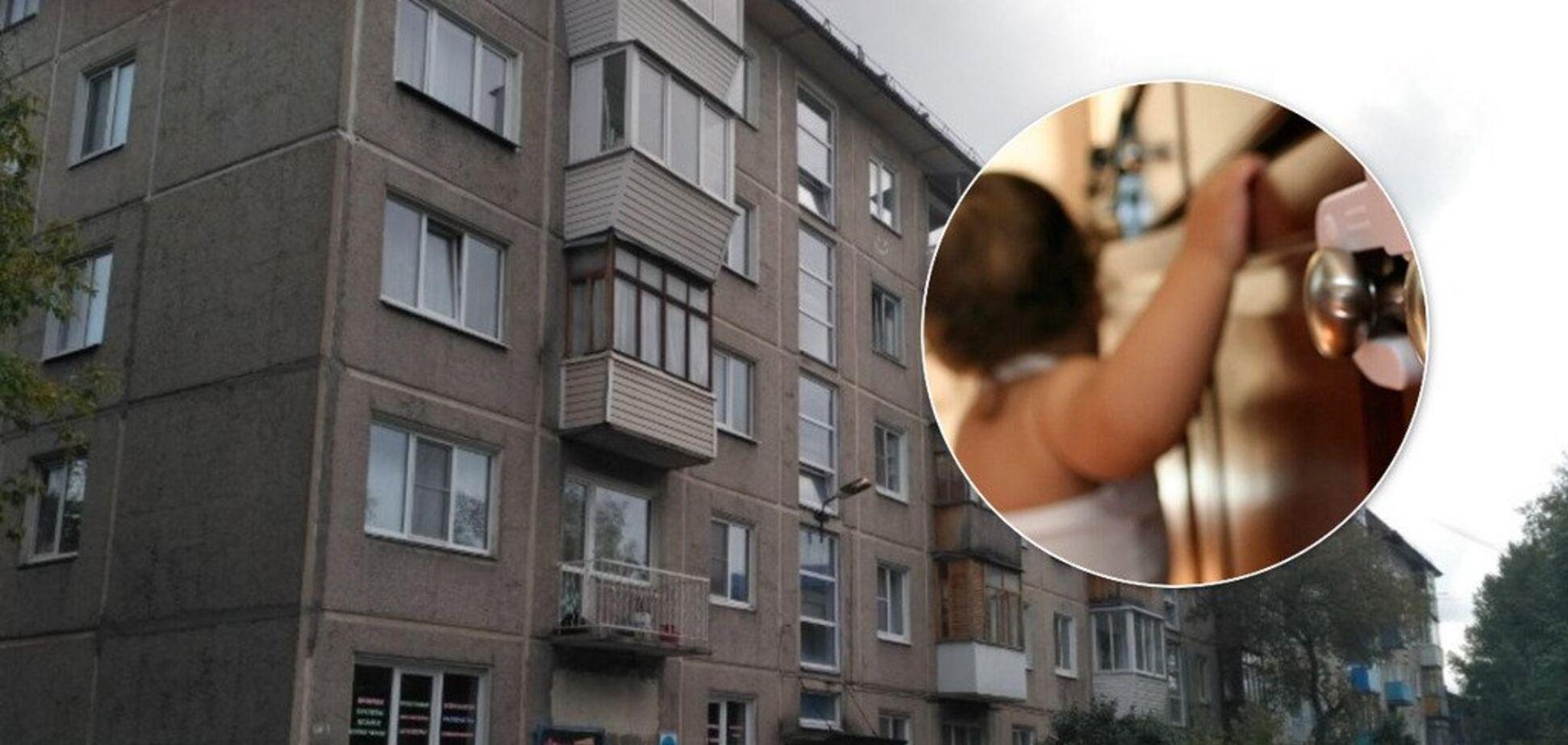Мати закрила і пішла на 3 дні: в Росії рятувальники вирізали з квартири трьох дітей