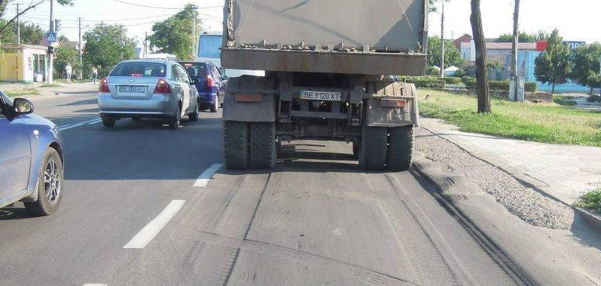Как в Европе: в Украине будут брать плату за езду на грузовике