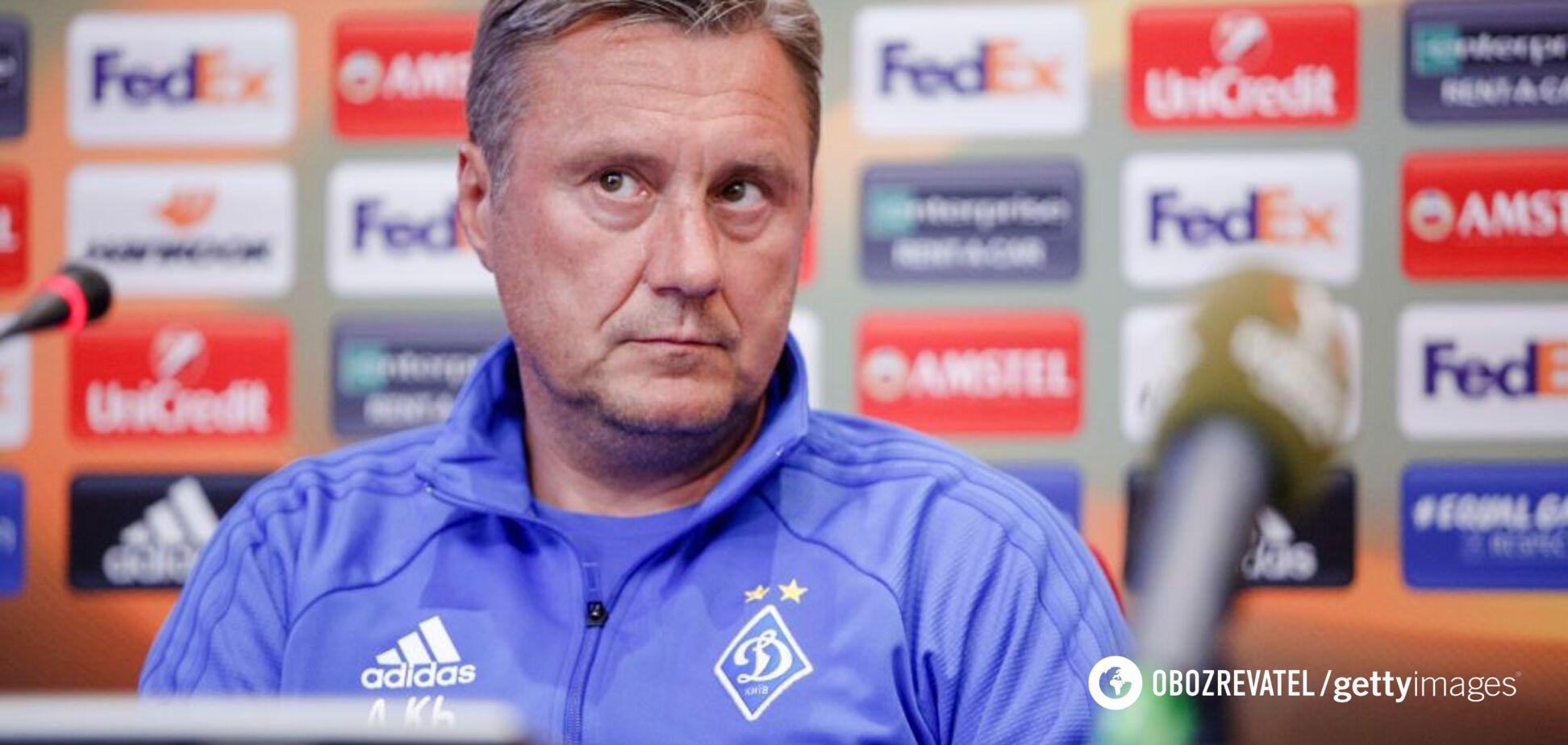 Знову 'Динамо': названі можливі клуби Хацкевича