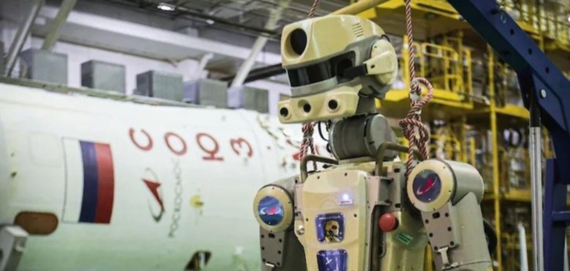 'Опудало та металобрухт!' У мережі висміяли 'успіх' російського робота Федора на МКС