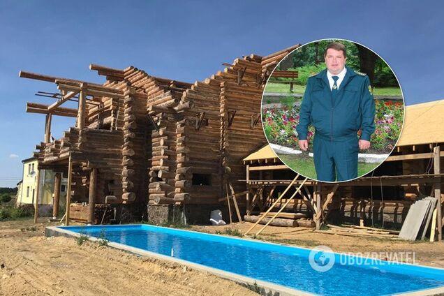 Виктор Сыса и его особняк в Харьковской области