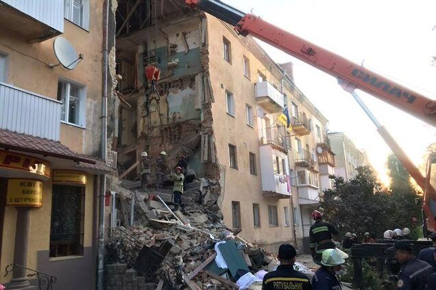 Обвалення будинку в Дрогобичі