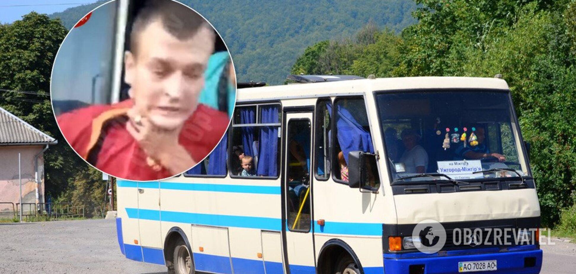 В Киеве водитель маршрутки душил льготника