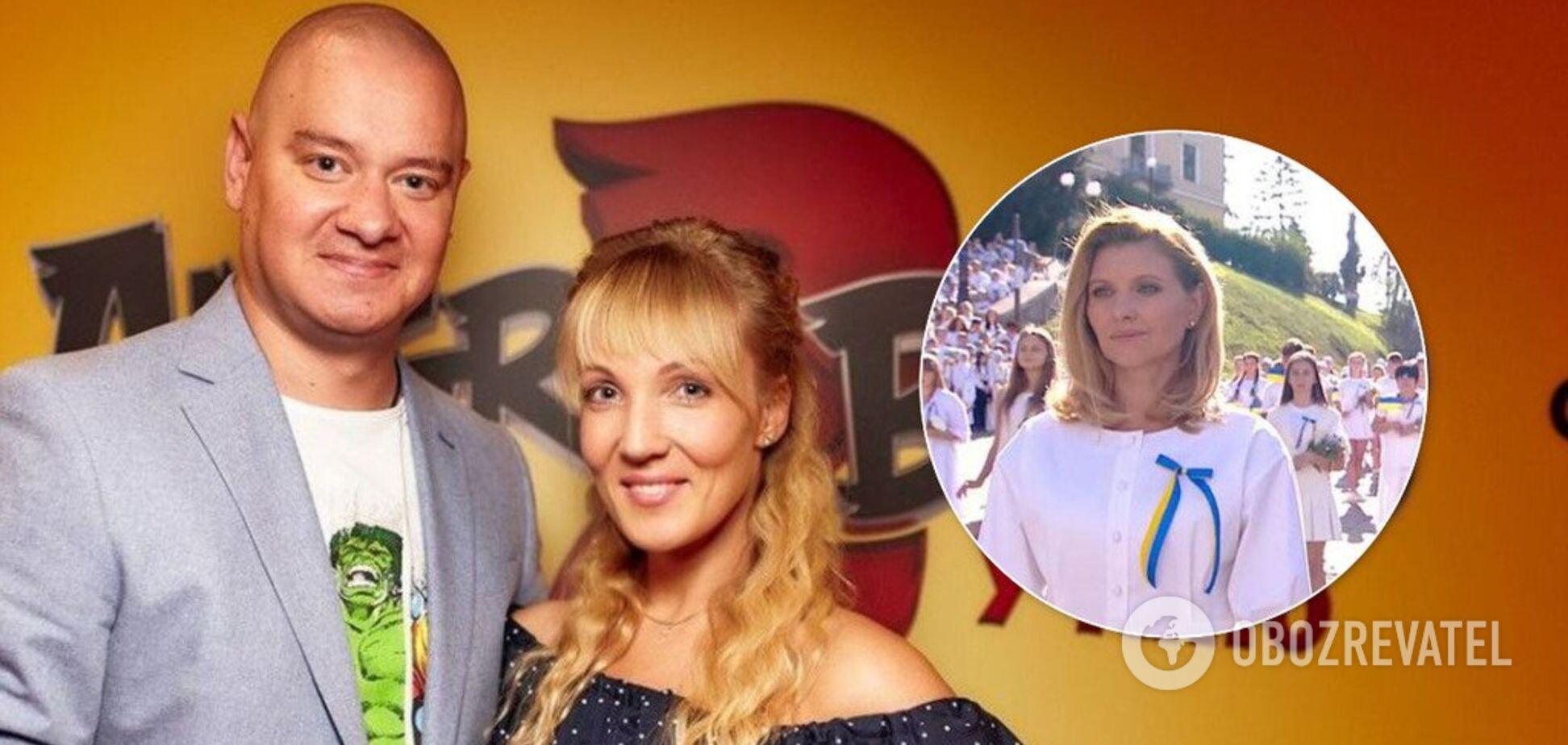 'У мене чоловік актор': ЗМІ дізналися про таємне заняття дружини Кошового