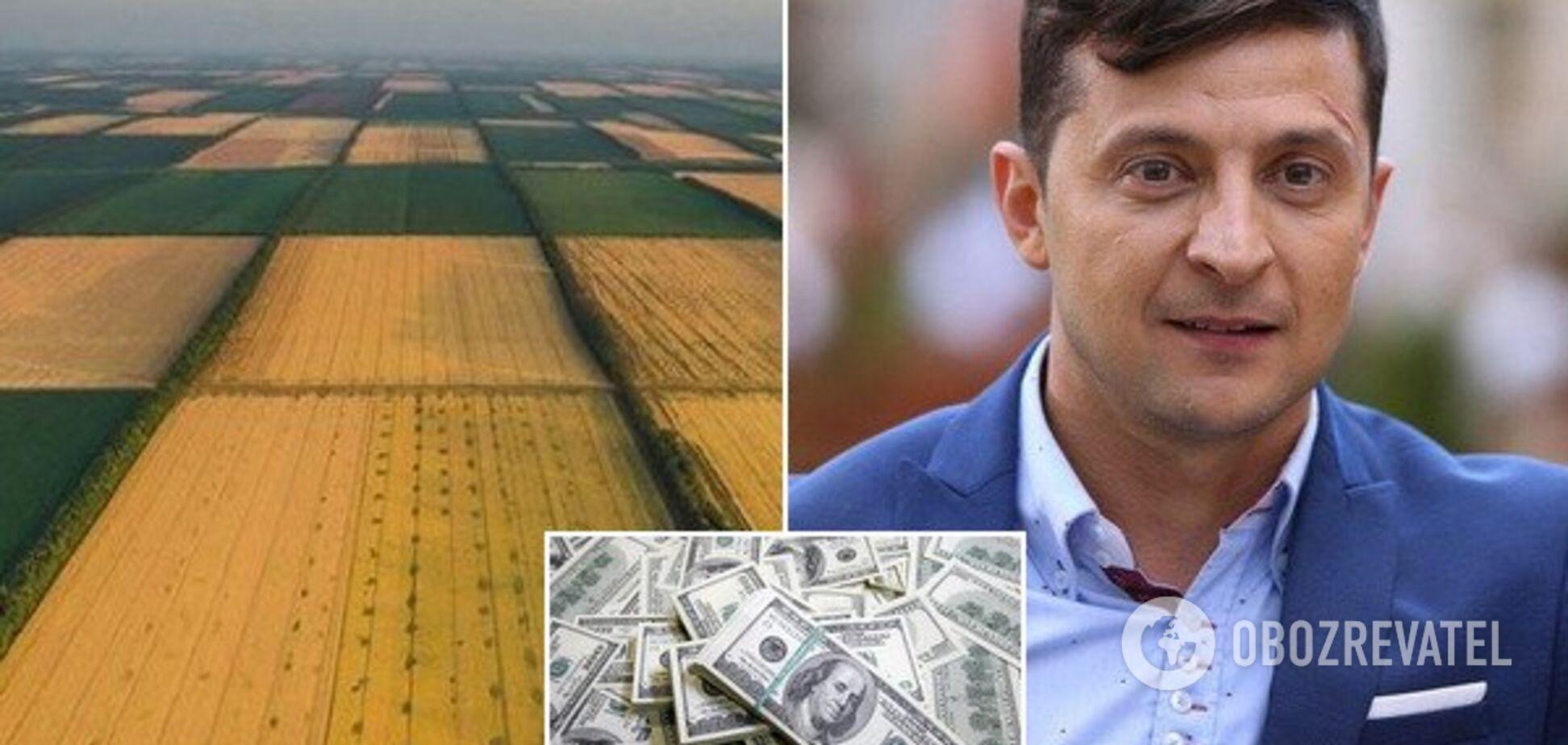 Зеленский решил продавать украинскую землю: сколько получит бюджет