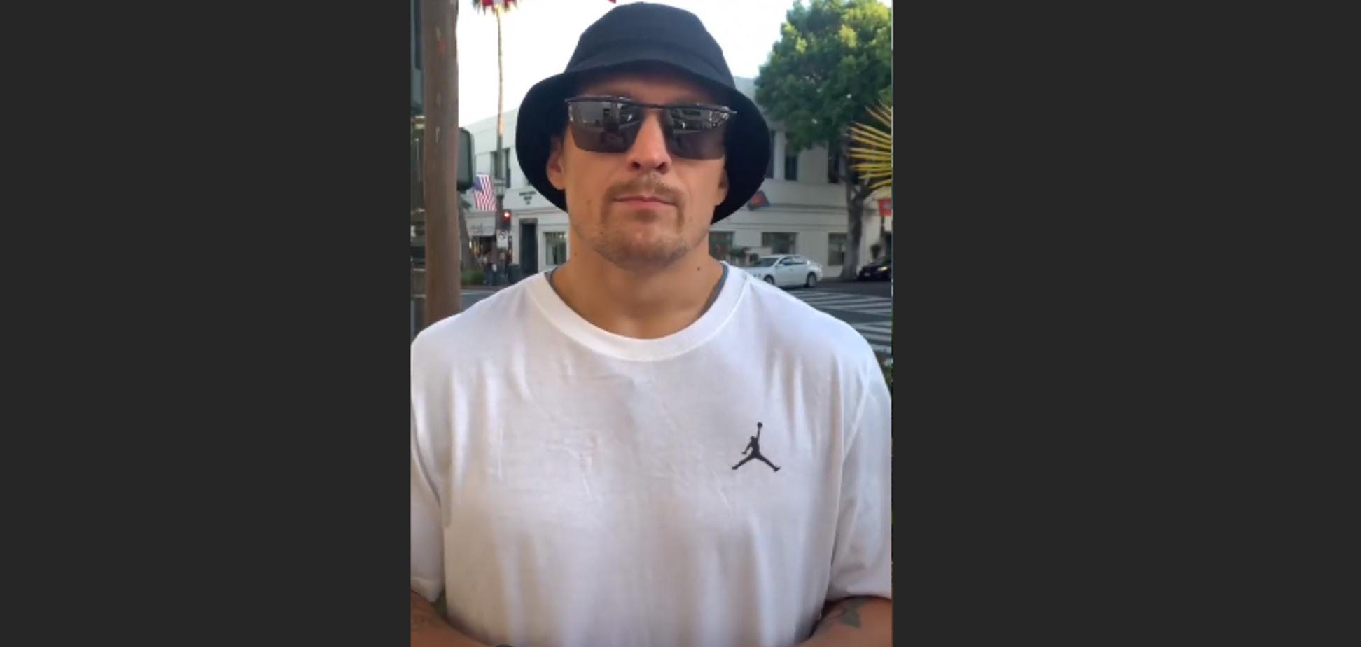'У Саши 'чердак' наглухо слетел': Усик вызвал резонанс своим видео