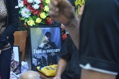 Похорон Тихона Курбатова