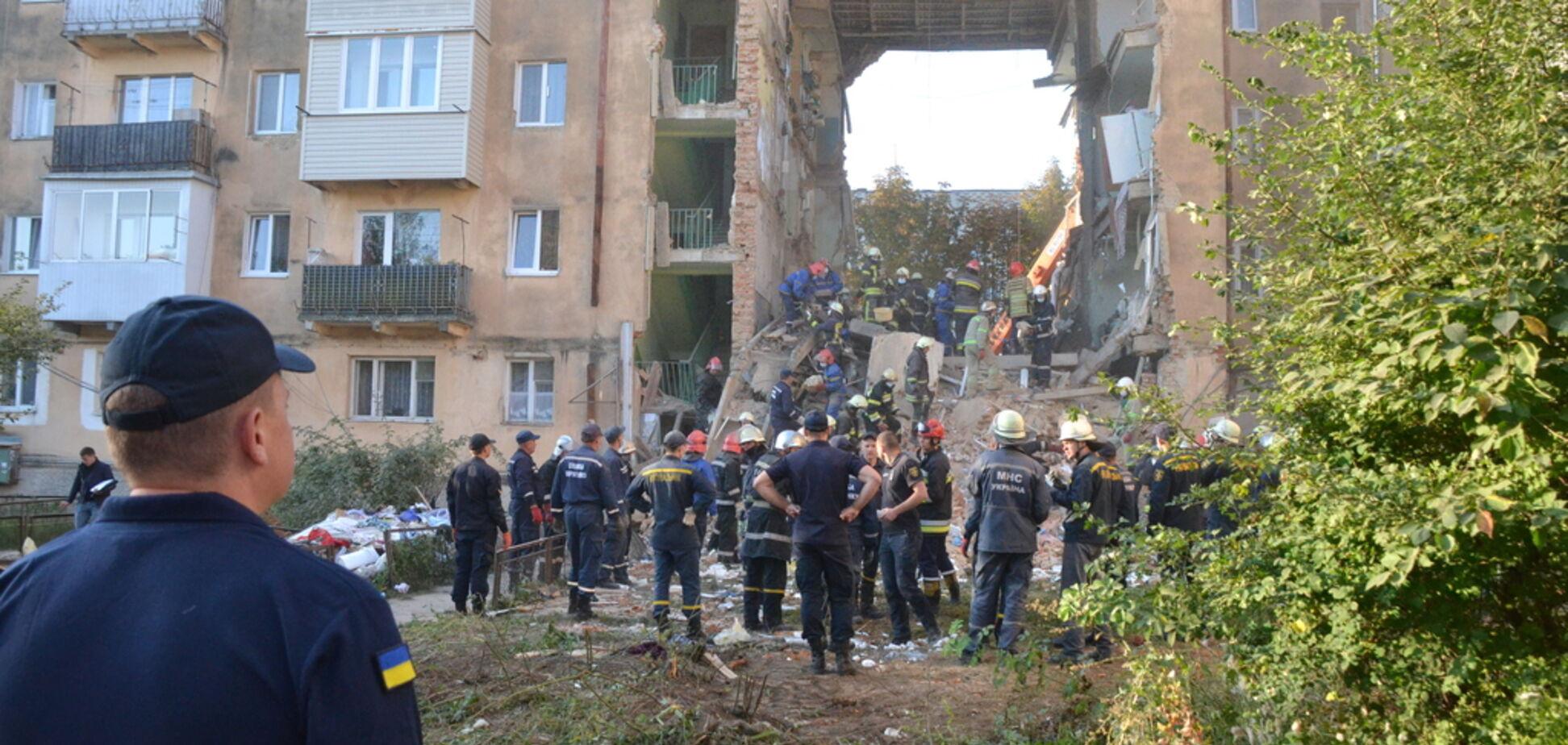 Обвал дома в Дрогобыче: количество жертв резко увеличилось