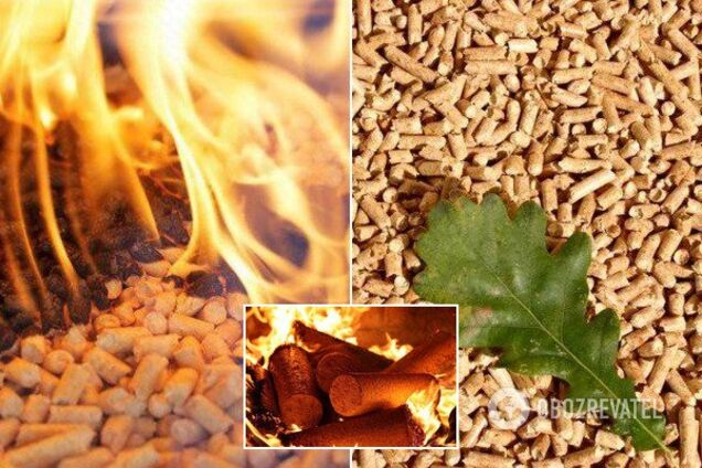 Пелети – енергоефективні паливні гранули