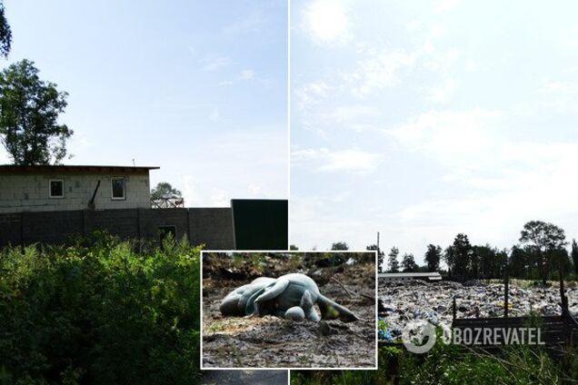 Вне закона: кто утопил в мусоре село на Киевщине