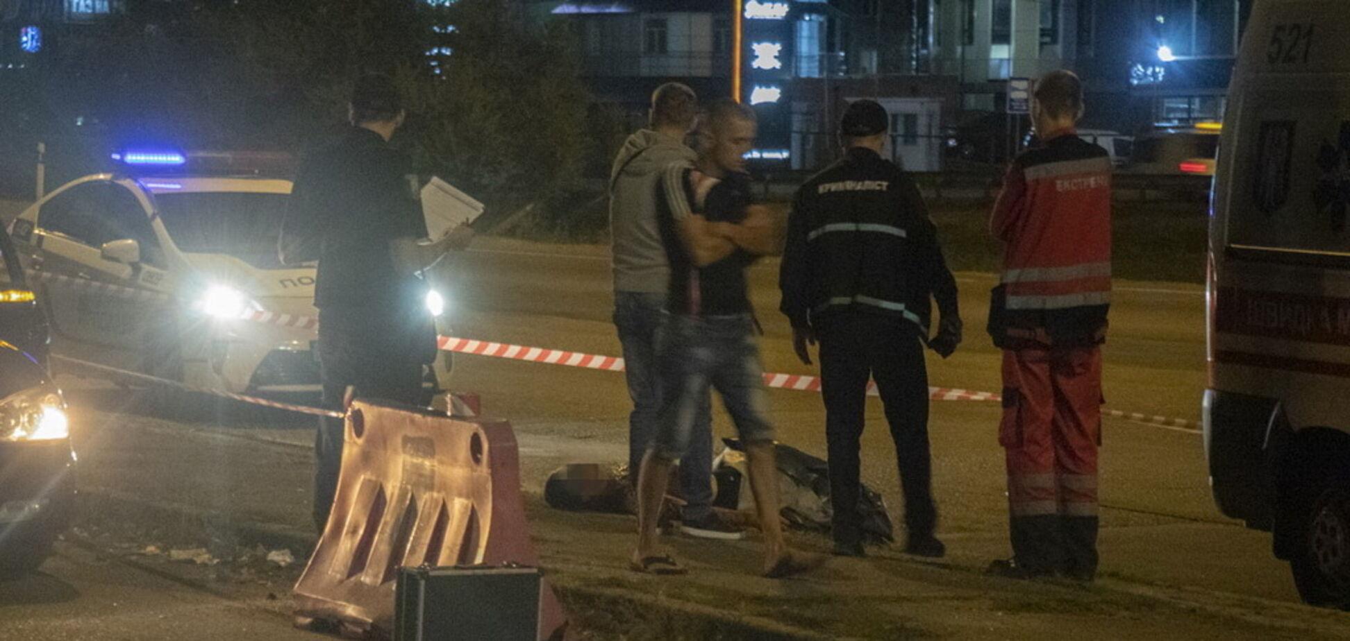В Киеве из авто вытолкали мужчину с перерезанным горлом: появились подробности об убитом