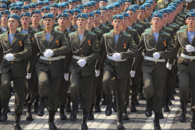 Ілюстрація. Російські десантники