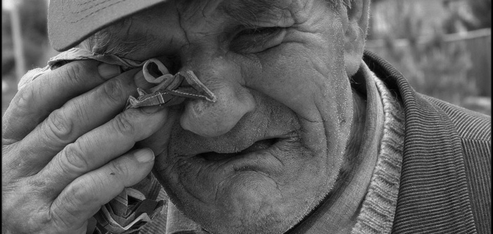 Дедушку ограбили. Источник: Novosti